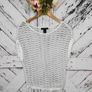 WHBM Cropped Sweater XS